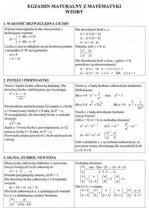 matura z matematyki poziom rozszerzony